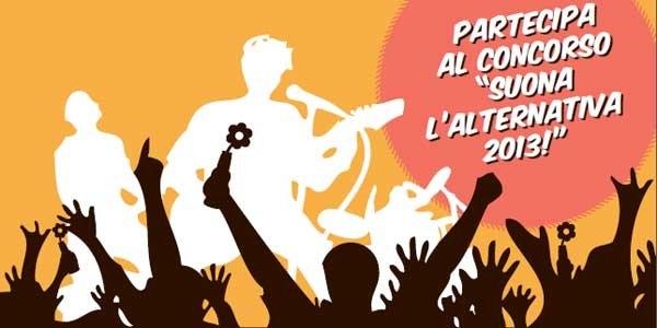 CONCORSO SUONA L'ALTERNATIVA 2013