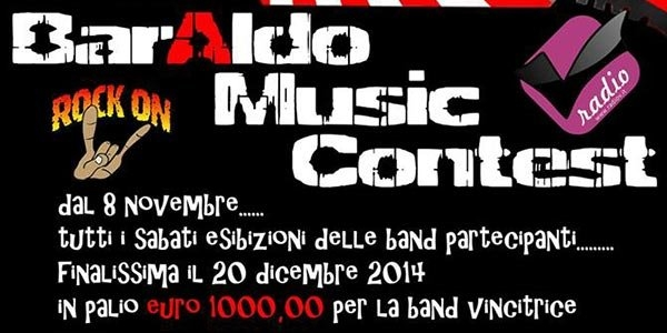 BARALDO MUSIC CONTEST, IL CONTEST PER BAND EMERGENTI