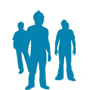 Foto band emergente Three Imaginary Boys