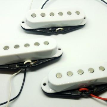Set Pickup Artigianali STC6 Made In Italy Per Stratocaster 48-50-52mm