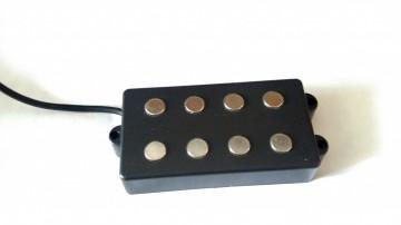 FOTO Pickup Stile Music Man 4 Corde Al Neodimio Artigianali Made In Italy MMNeo4