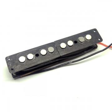 FOTO Pickup Split Coil Per Posizione Ponte Per Jazz Bass JBSPA54B (alnico 5) Artigianali (NUOVI)