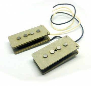 FOTO Pickup NUOVI Artigianali Made In Italy PBA54 Classic Precision Bass Alnico5