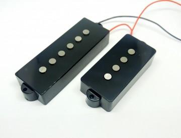 Pickup Artigianali Made In Italy 5 Corde PBA55 (Alnico 5) Per Precision Bass