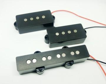 Set Pickup Per Basso PJ PJA54 (alnico 5) Artigianali (NUOVI)