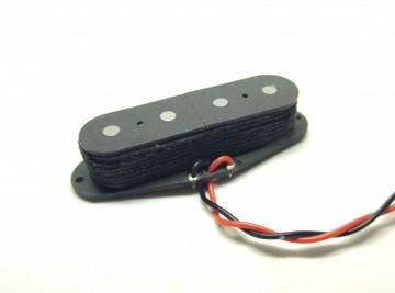 FOTO Pickup Per Telecaster Bass Humcancelling TBSPA54 P51 (filo Telato Nero)