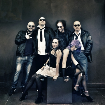 Foto band emergente Criminal Party