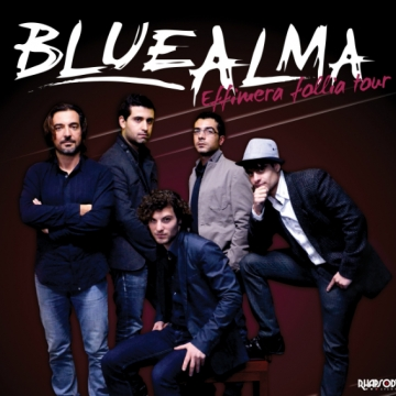Foto band emergente Bluealma
