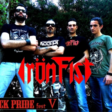 Foto band emergente Irön Fist
