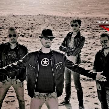 Foto band emergente Broken Frames