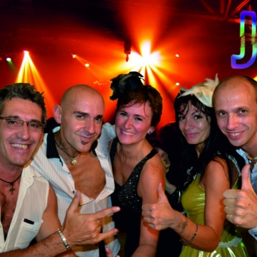 Foto band emergente JUSTDANCEband