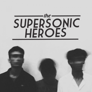 Foto band emergente Supersonic Heroes