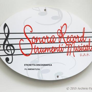 Foto etichetta discografica Sonora Record