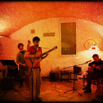 Foto band emergente The Talking Bugs
