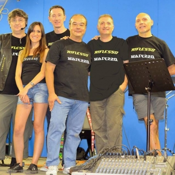 Foto band emergente Riflesso