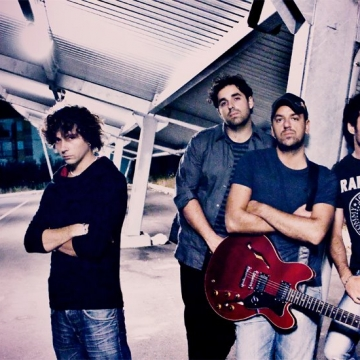 Foto band emergente René Golconda