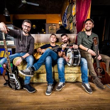 Foto band emergente Moka quartet