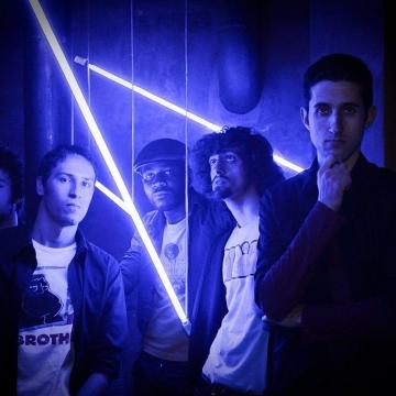 Foto band emergente Palco Numero Cinque