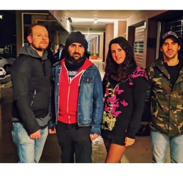 Foto band emergente BLUVELENO