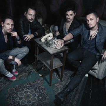 Foto band emergente Lads who Lunch