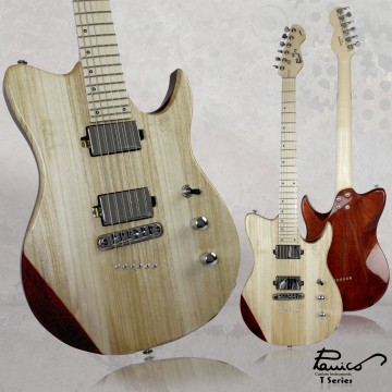 FOTO Chitarra Elettrica Panico Guitars T Series T236