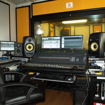 Foto etichetta discografica Studio B Recording