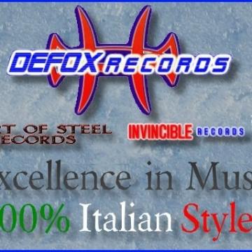Foto etichetta discografica Defox Records
