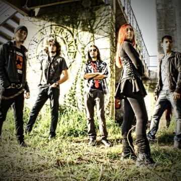 Foto band emergente Hate After Rage