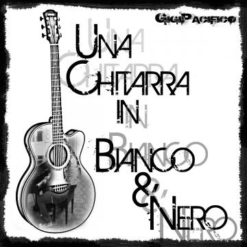 Foto produzione Una Chitarra In Bianco E Nero