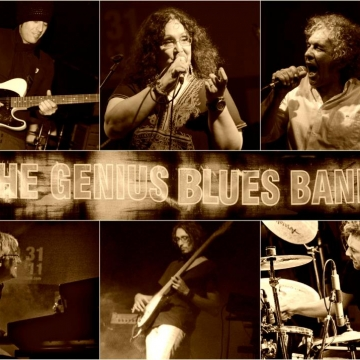 Foto band emergente The Genius Blues Band