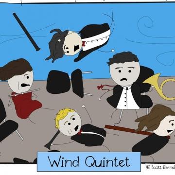 Foto band emergente Wind Quintet