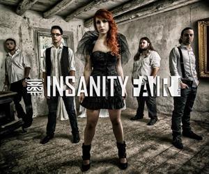 Foto band emergente Insanity Fair